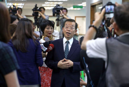 Hsieh said that Tsai's platform of maintaining of the status quo in cross-strait relations is a policy adjusted to public opinion, as compared to four...