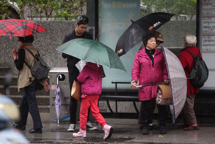 Less rainy weekend in forecast; cooler in northern Taiwan