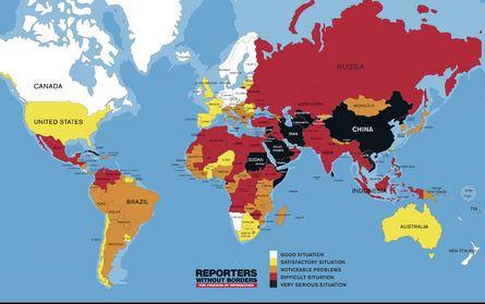 無國界記者組織(RSF)今(20)日公布2016年新聞自由指數排名,台灣在180國之間名列第51名,與去年相同,並且居亞洲之冠。