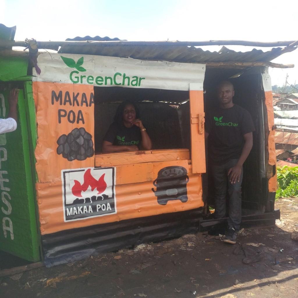GreenChar,一家來自非洲肯亞的新創社會企業,專提供用戶潔淨的新能源,以取代傳統的煤炭和木柴。(圖片取自GreenChar官網)