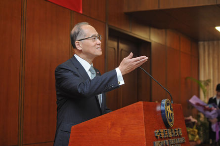 Foreign minister prepares presidential trip