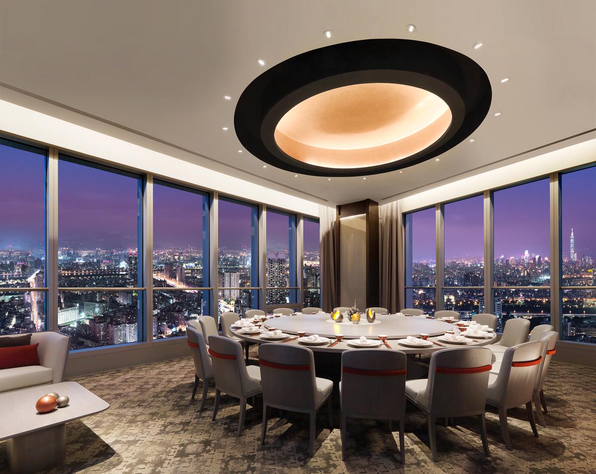 Far Eastern Group and Shangri-La International Hotel Management Ltd  Together Open Moon Pavilion on May 24