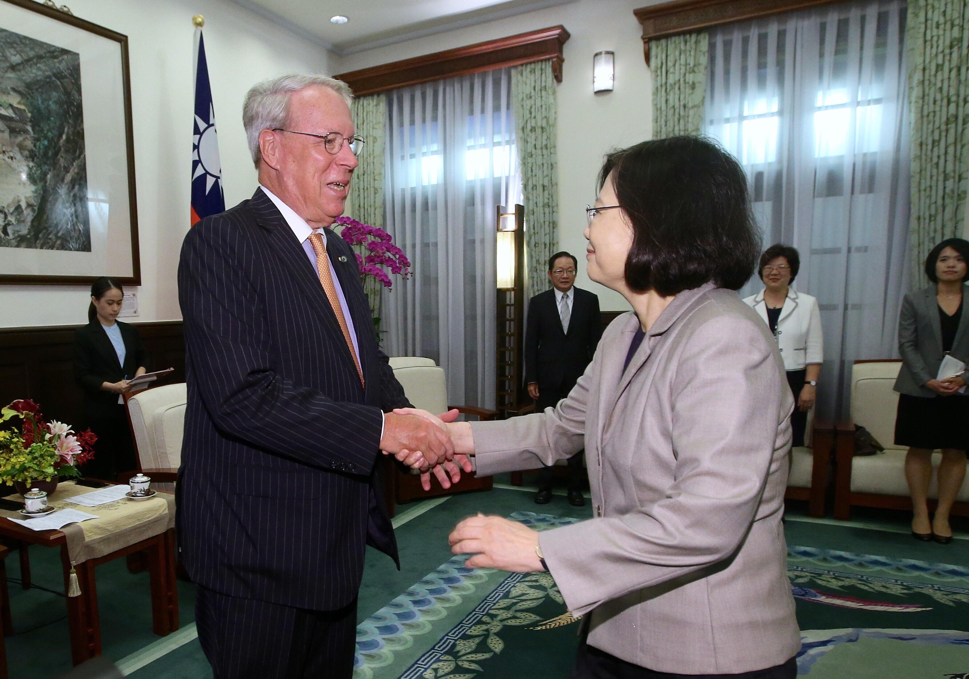 蔡總統盼美助台入TPP第二輪協商
