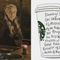 尷尬!「星巴克咖啡杯」穿越至《冰與火之歌》 戲迷樂不可支
