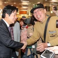 Taiwan ex-Premier Lai visits Japan