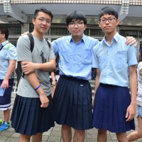 Boys at Taiwan high school wear skirts for one week to break gender stereotypes