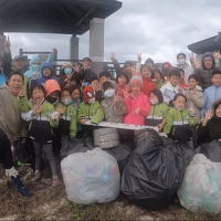 Taiwan elementary school in Penghu honored for beach clean-up efforts