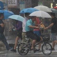 Heavy rain alert issued for 14 counties, cities in Taiwan