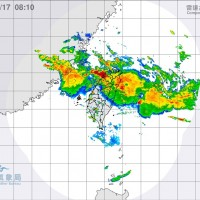CWB radar map.