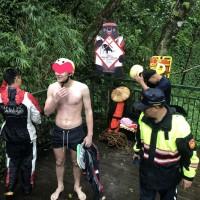 Dutch hiker falls down ravine as heavy rain pelts Taiwan