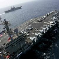 美航母打擊群阿拉伯海軍演 川普:若開戰就是伊朗滅亡之日