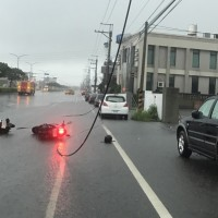 Scooter driver dies on birthday after being electrocuted by power line in W. Taiwan