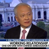 Chinese ambassador says `door still open' for trade talks