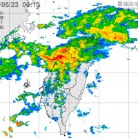 Taiwan's CWB issues heavy rain alert today, major front coming Mon.