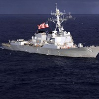 2 US warships pass through Taiwan Strait for 5th time this year