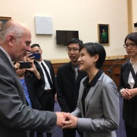 Taiwan's culture minister visits Washington to promote soft power