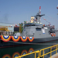 Philippines launches nation's 1st missile equipped frigate, the BRP Jose Rizal