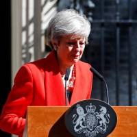 【快訊】脫歐協議難過關 英國首相梅伊含淚宣布6月7日下台