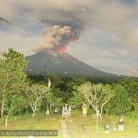印尼阿貢火山噴發 影響峇里島至少9航班