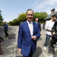 歐洲議會選舉將落幕 英國脫歐黨準備慶功