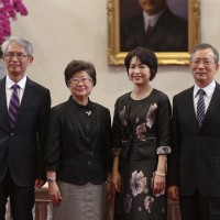 Taiwan president nominates four grand justices