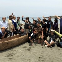 Team to paddle from Taiwan to Japan in wooden dugout canoe