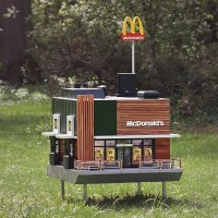 World's smallest McDonald's opens in Sweden