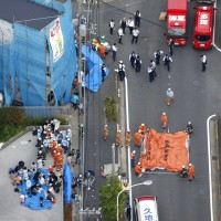 【更新】日本男子公車站持刀狂砍19傷 小學生與路人共2死
