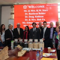 Delegation to religious forum in Taiwan visits I-Mei Food Safety Research Center