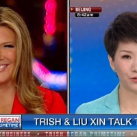 Fox's Trish Regan faces off with CGTN host Liu Xin over US-China trade war