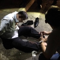 Two people slashed by wanted man in Taoyuan, Taiwan