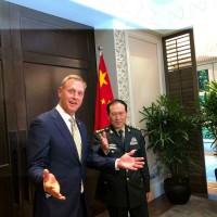 亞安全對話美中砲火猛 中國防長嗆:分裂台灣中國將戰到底
