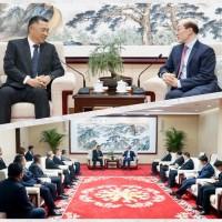 楊鎮浯會劉結一 盼中國政策支持金門發展