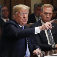 File Photo: President Trump with Defense Secretary Patrick Shanahan