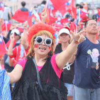 Crowds rally in eastern Taiwan for Kaohsiung mayor's presidential bid