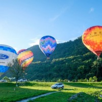 Hot air balloon rides at Taiwan's Shihmen Reservoir open for registration from June 10
