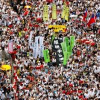 【更新】香港「反送中」 遊行 民陣宣布103萬人參與