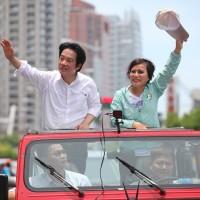 賴清德「壯大台灣」車隊遊行:推最強候選人代表民進黨!