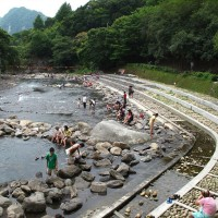 Yunei River in Taiwan's Xiao Wulai open for water frolicking