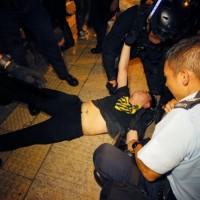 香港反送中抗議(AP)