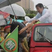 「壯大台灣」車隊抵凱道 賴清德:我是最有能力守護台灣的人