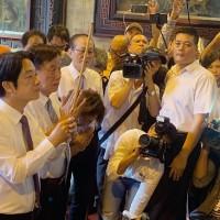 【快訊】賴清德致電卓、蔡 願接受初選結果、支持蔡總統競選連任