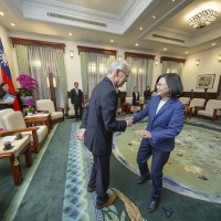 Tsai seeks expanded Taiwan-US-Japan cooperation in Indo-Pacific
