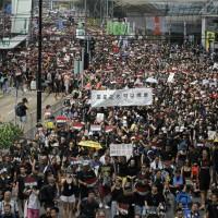 (更新)港人今下午再上街 要求撤回惡法及收回暴動定性