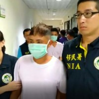 Vietnamese worker arrested in Taichung. (NIA Taichung branch photo)