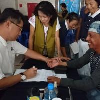 黑鮪魚季結合移工義診 印尼新住民鬥陣當通譯志工