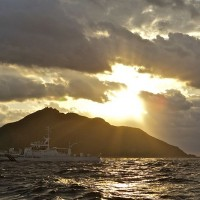 File photo: Japanese Coast Guard vessel near Daioyu Islands