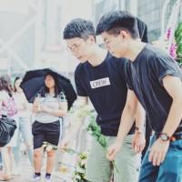 黃之鋒今出獄立刻投入「反送中」 感謝台灣人參加遊行撐港人