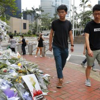 Joshua Wong thanks Taiwan for supporting Hong Kong protests