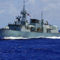 Canadian warship makes rare patrol through Taiwan Strait